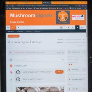 E learning Mushroom course